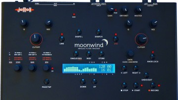 Jomox Moonwind analoger Filter