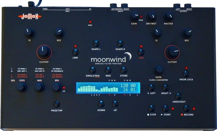 Jomox Moonwind analoger Filter