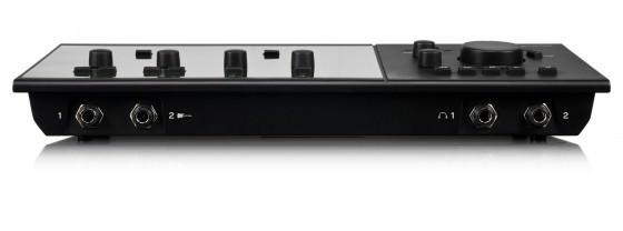 Die Vorderkante des M-Audio Fast Track C600