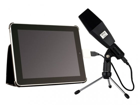 MXL Trio USB Mikrofon iPad