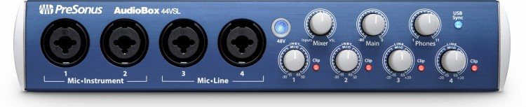 PreSonus AudioBox 44VSL Testbericht