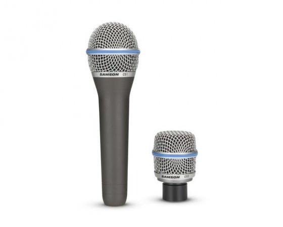 Samson CS1 CS2 Mikrofon mit austauschbaren Kapseln