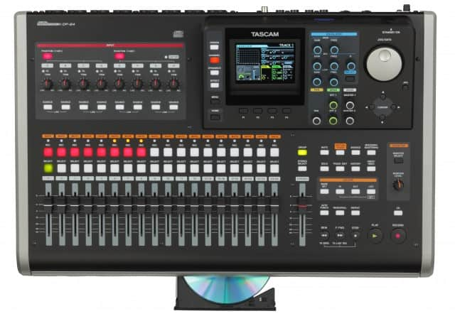 Tascam DP-24 Portastudio - Komplettes Tonstudio