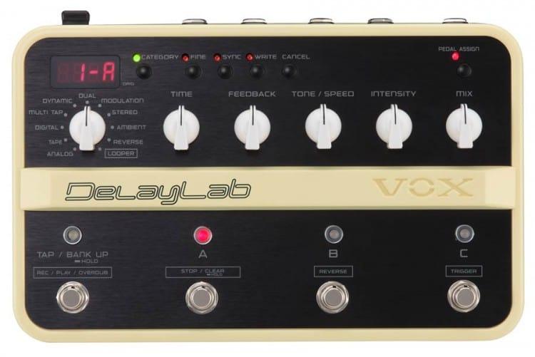 VOX DelayLab Pedal für Gitarristen