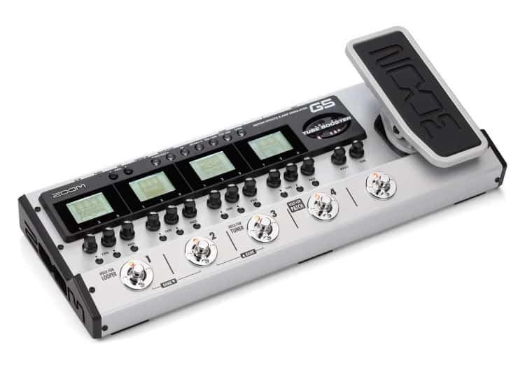 Zoom G5 Bodeneffektgerät für Gitarristen