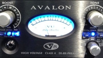 Avalon V5 Di-Re-Mic Preamp