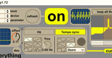 Julien Bayle LFO for Ableton Live