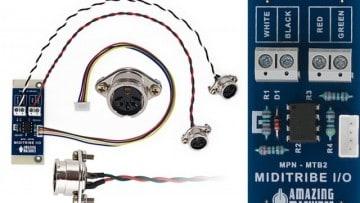 MIDI für den Monotribe: Miditribe I/O