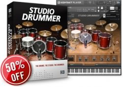 Native Instruments Studio Drummer Promo
