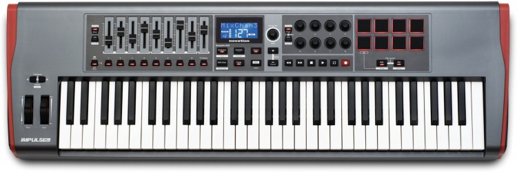 Novation Impulse 61 Testbericht