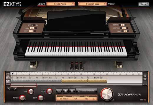 Toontrack EZkeys Piano VST Instrument