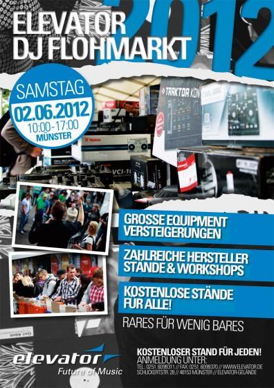 Elevator DJ Flohmarkt 2012