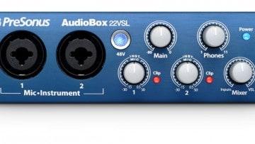 PreSonus AudioBox 22VSL Testbericht
