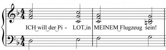 Songwriting -- Chorus, betonte Silben, schwere Zählzeiten