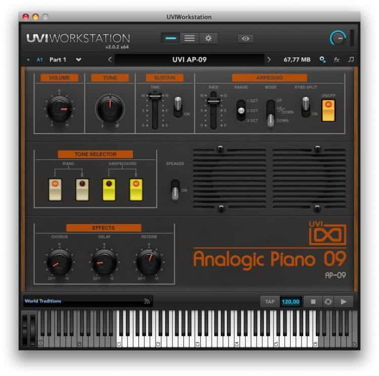 UVI Analogic Piano 09
