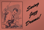 Free Swing Jazz Drums
