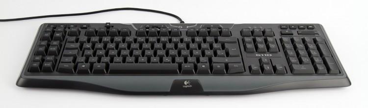 Die Tastatur von vorne