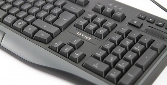 Tastatur Audio Computer Logitech G110