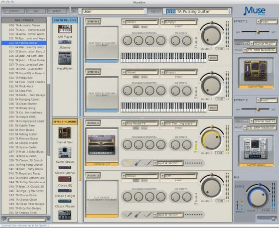 Peavey MuseBox Software