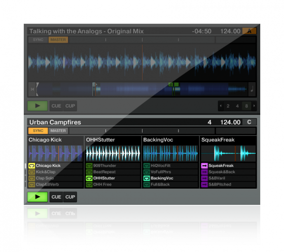 Traktor Pro 2.5 Remix Decks