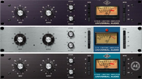 Universal Audio 1176 Classic Limiter Collection