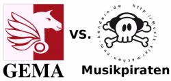 GEMA vs. Musikpiraten