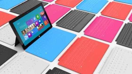 Microsoft Surface - Farboptionen