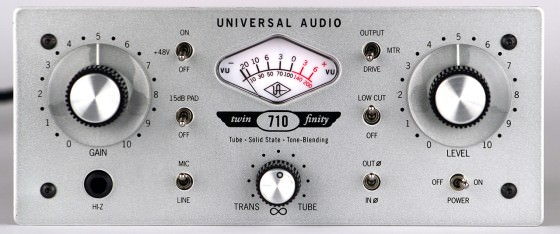 Universal Audio Twin-Finity 710 Testbericht