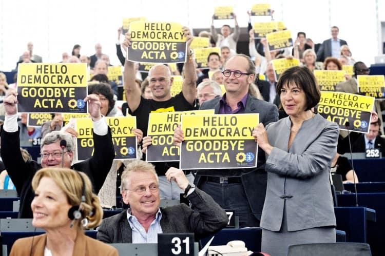 Hello Democracy Goodbye ACTA