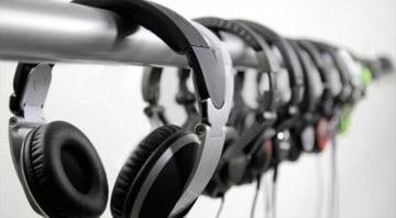 Kopfhörer für den Recorder