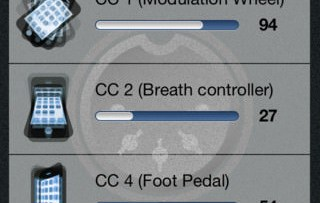 MIDI In Motion