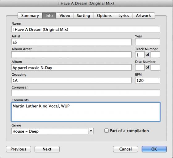 Kategorie aussuchen - Musik verwalten mit iTunes