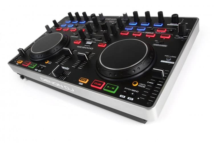 Denon MC2000 DJ Controller für Einsteiger