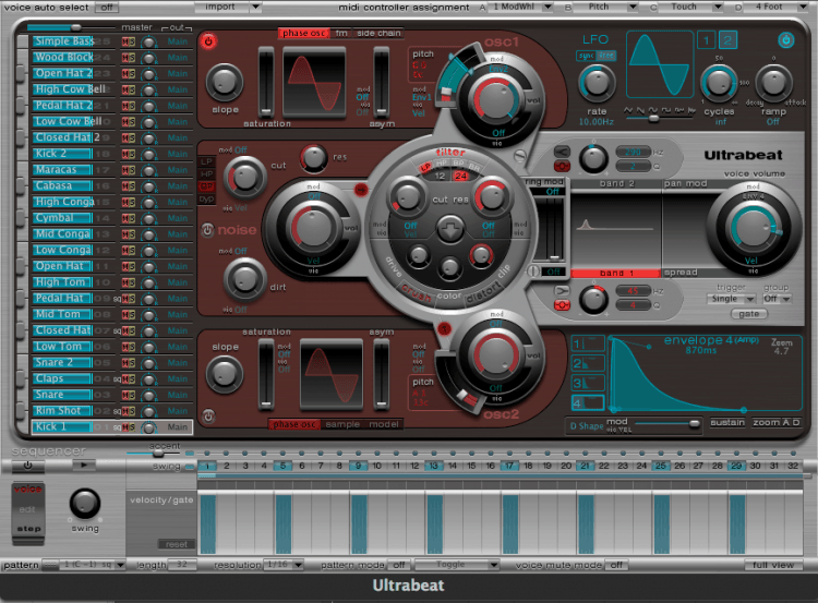 Logic Tutorial Ultrabeat