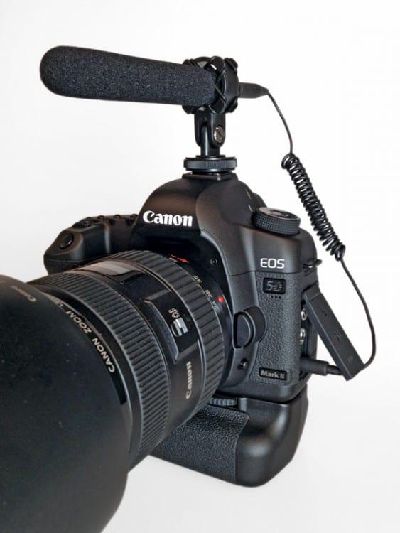MicW iShotgun DSLR-Mikrofon