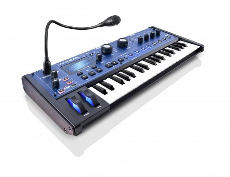 Novation MiniNova Performance-Synthesizer mit 37 Tasten