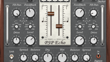 PSP Echo Tape Delay Plugin