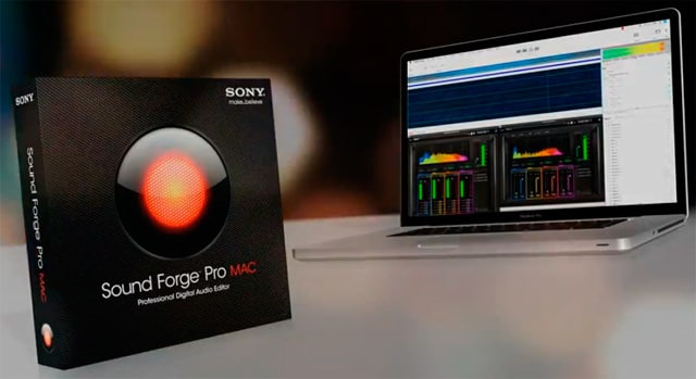 Sony Sound Forge für Mac
