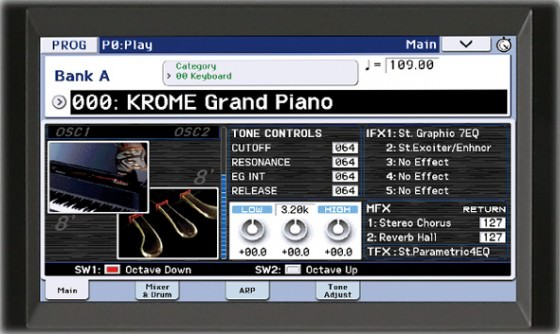 Korg Krome Music Workstation