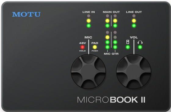 MOTU MicroBook II Testbericht