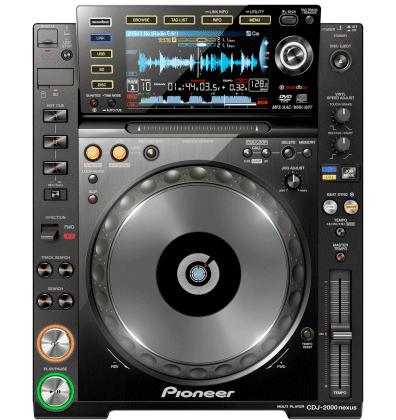 Pioneer CDJ2000nexus