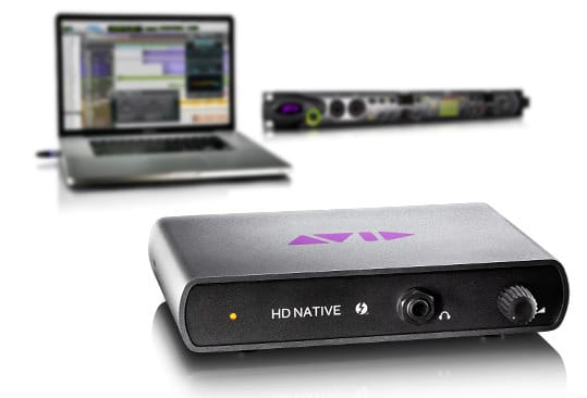 Pro Tools HD Native Thunderbolt Interface