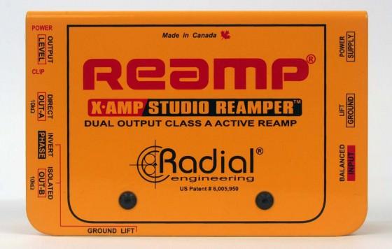 Radial X-Amp Testbericht