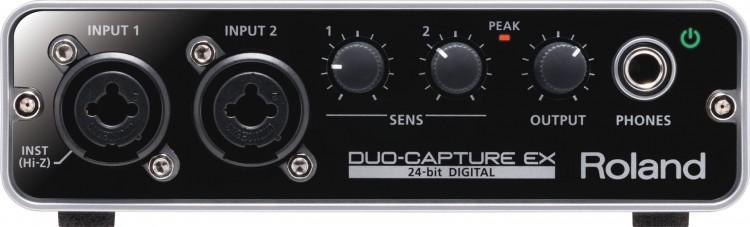 Roland Duo-Capture EX Vorderseite