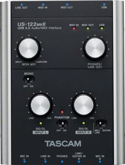 Tascam US-122MKII Testbericht