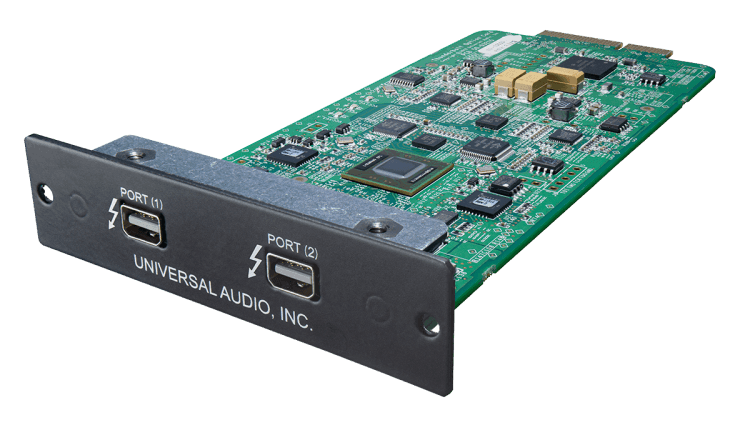 Universal Audio Apollo Thunderbolt Option Card