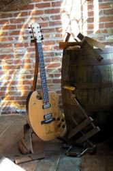 Justin Vernons Whiskey Barrel Guitar