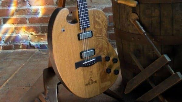 Justin Vernons Whiskey Barrel Guitar