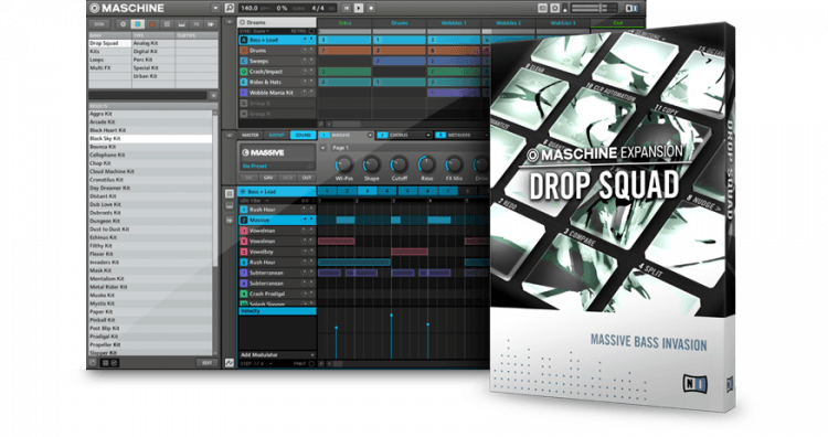 Native Instruments Drop Squad