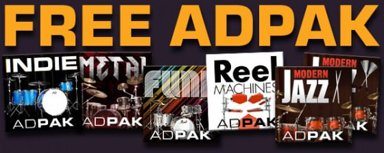 XLN Audio Free ADpak